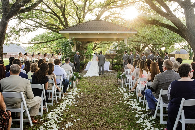 Gazebo Wedding at Oak Crossing